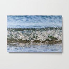 Beach Wave 0388 Metal Print