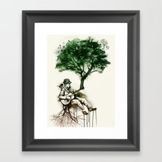 'In the rhythm of nature' Framed Art Print
