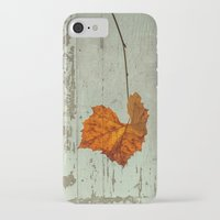 thanksgiving iPhone & iPod Cases featuring Thanksgiving by V. Sanderson / Chickens in the Trees