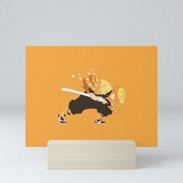 Zenitsu Mini Art Print