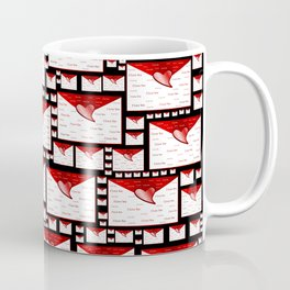 red white envelope text i love you Coffee Mug