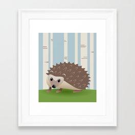 Nursery Art - Hedgehog Framed Art Print