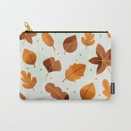 Falling in leaves Carry-All Pouch
