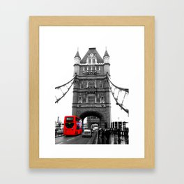Tower Bridge in London Framed Art Print