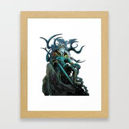 Elf King - White Framed Art Print