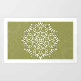 Mandala Collection XVIII Art Print