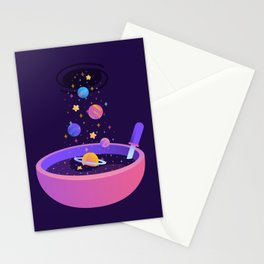 Macrocosmic Cereal Stationery Cards