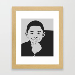 Mr. Cam Framed Art Print