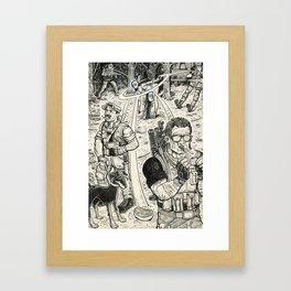Mercs Framed Art Print