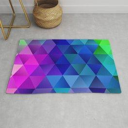 Color Wave Rug