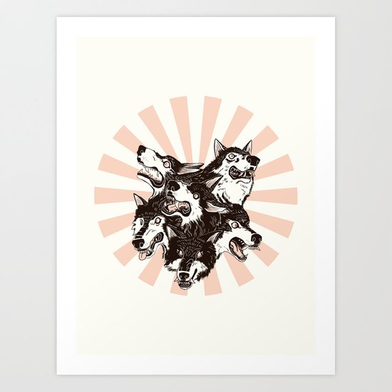 Power of the Pack Art Print