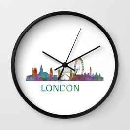 London UK Skyline HQ Wall Clock