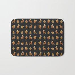 Ginger Bread Man Reinders Rudolf Cookies Chocolates Box Bath Mat