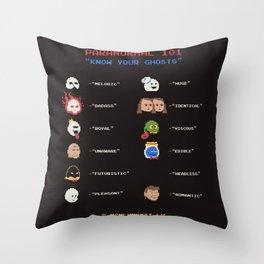 Paranormal 101 Throw Pillow