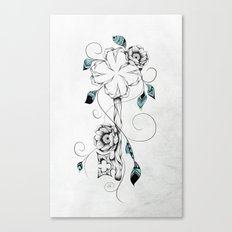 Poetic Key of Luck  Canvas Print