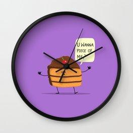 Trouble Caker! Wall Clock