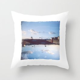 Upside Down #2 Throw Pillow