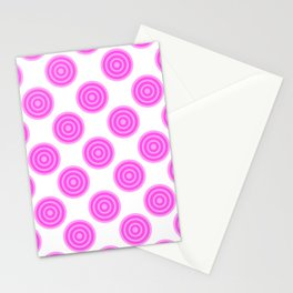 Strawberry Lollies Stationery Cards