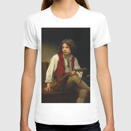 "William-Adolphe Bouguereau ""Italien à la mandoline (Italian with mandolin)"" T-shirt"