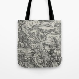 Woman of Babylon Tote Bag
