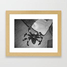 My worst fear Framed Art Print