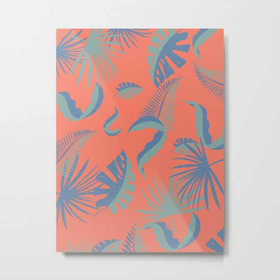 Palmtree Paradise Metal Print