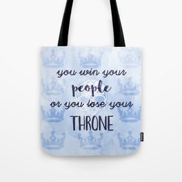 WIN YOUR PEOPLE Tote Bag