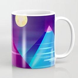 Synthwave Neon City #6 Coffee Mug