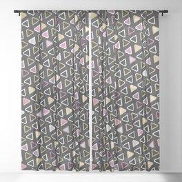 Diamond Pattern 3 Sheer Curtain