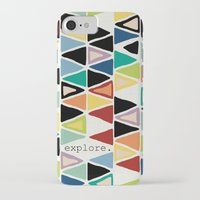 explore iPhone & iPod Cases featuring explore. by Sharon Turner