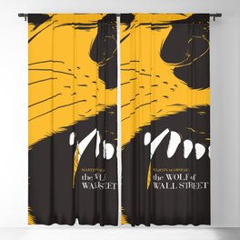 The Wolf of Wall Street | Fan Poster Design Blackout Curtain