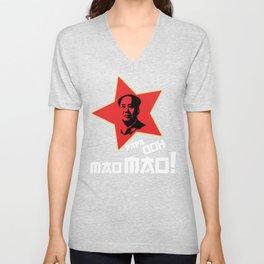 Papa Ooh Mao Mao! Unisex V-Neck