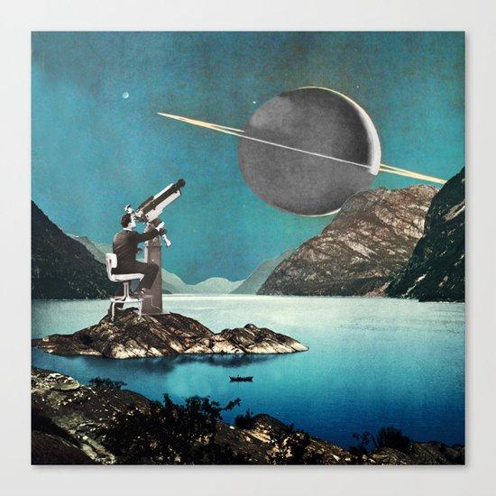 The Astronomer Canvas Print
