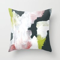 lime Throw Pillows featuring Lime by Bany Hope