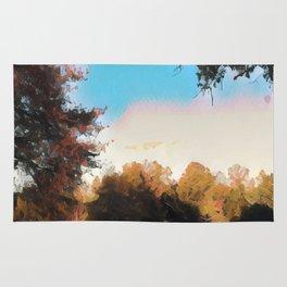 Fall Road by Ericka O'Rourke Rug
