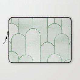 Arch Decor Green Laptop Sleeve