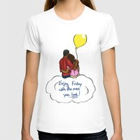 friday T-shirts featuring FRIDAY by RM2 Designs