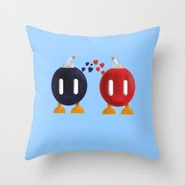 Bomb-Omb Love Throw Pillow