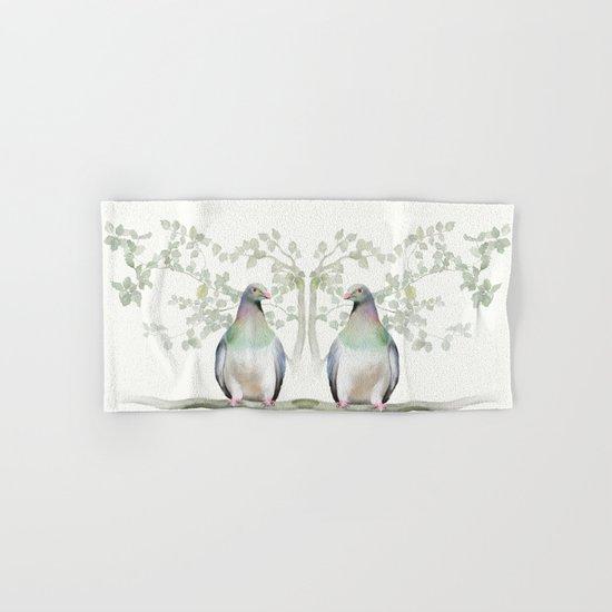 Wood Pigeon Hand & Bath Towel