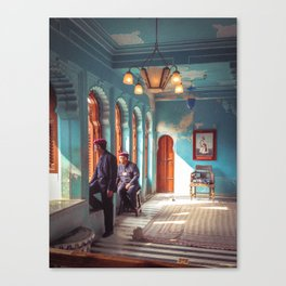 Indian Palace Gaurds Canvas Print
