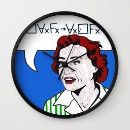 (Converse) Ruth Barcan Marcus Wall Clock