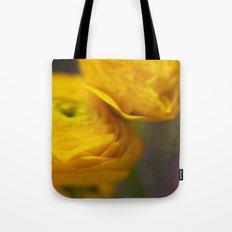 Soft Ranunculus Tote Bag