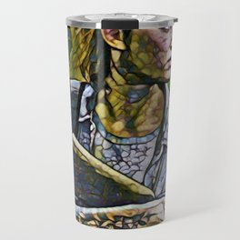 The Last of Us Ellie Artistic Illustration Infected Style Travel Mug