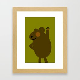 Fuzzal Framed Art Print