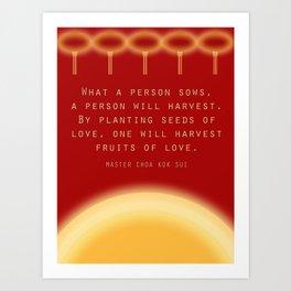 Give and Take Art Print