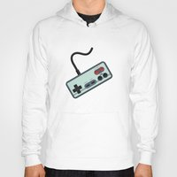 gamer Hoodies featuring Vintage + Retro Gamer / Gamer by BackInTheDay LAB