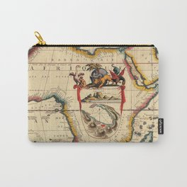 Vintage Map #2 Carry-All Pouch
