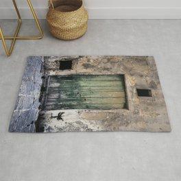 Green Door III Rug