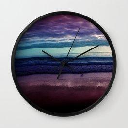 Abstract Sunrise Wall Clock