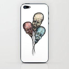 3 Wise Balloons iPhone Skin
